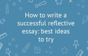 How to write an academic reflective report